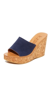 K. Jacques Timor Wedge Sandals