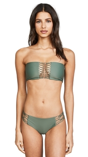 MIKOH Fiji Bandeau Bikini Top