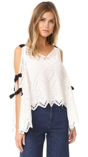 Nanette Lepore Hook Like Sinker Top