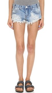 One Teaspoon Hustler No 2s Shorts