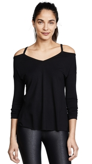 Onzie Cold Shoulder Top