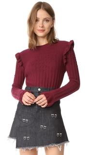 Otto dame Maglia Ruffle Sweater
