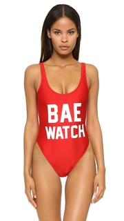 Private Party Bae Watch One Piece Bathing Suit