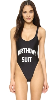 Private Party Birthday Suit One Piece
