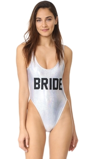 Private Party Bride Metallic One Piece