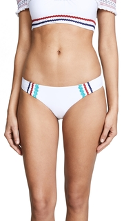 Red Carter Ipanema Bottoms with Rickrack Trim