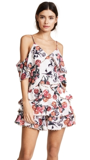 Talulah Rose Quartz Ruffle Mini Dress