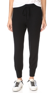 Three Dots Brushed Cropped Joggers
