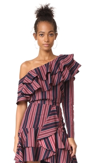WAYF Cheyenne One Shoulder Top