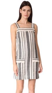 Whistles Cici Stripe Bardot Dress