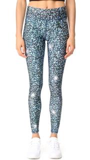 Terez Glitter Night Skies Tall Band Pants