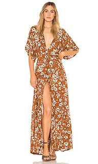 Макси платье bergamo - FAITHFULL THE BRAND