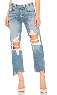 Helena high-rise straight jean - GRLFRND