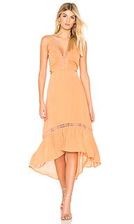Платье миди javasu cutout - THE JETSET DIARIES