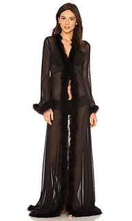 Glam feather robe - KISSKILL Kiss&Kill