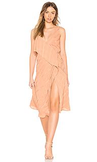Платье с запахом yoanna - Line & Dot