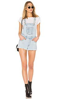 Комбинезон denim short - OFF-WHITE