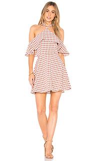 Мини-платье с открытыми плечами bennette - Privacy Please