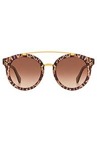 Солнцезащитные очки round frame - Stella McCartney