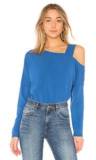 Блуза на одно плечо - Tibi