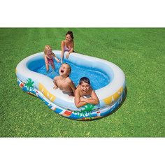 """Детский надувной бассейн """"Райская лагуна"""", Intex"""