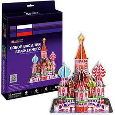 """Пазл 3D """"Собор Василия Блаженного (Москва)"""", 46 деталей, CubicFun"""