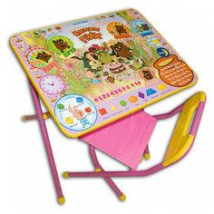 """Набор мебели """"Винни-Пух"""" (3-7 лет), Дэми, розовый"""