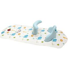 Коврик для ванной со съемным стульчиком ROXY-KIDS, Слоненок