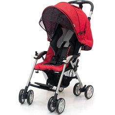 Прогулочная коляска Jetem Elegant, черный/красный