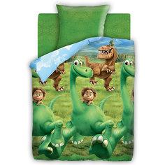 """Комплект """"Хороший Динозавр"""" 1,5-спальный (наволочка 70*70) Непоседа"""