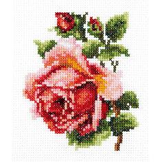 Набор для вышивания крестом «Розочка» Чудесная игла