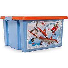 """Ящик для игрушек """"Самолеты"""", 30 л Полимербыт"""