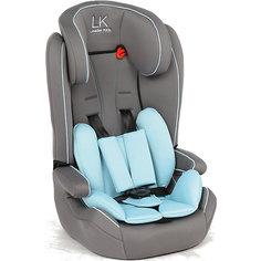 Автокресло Leader kids SORRENTO, 9-36 кг, серый/голубой