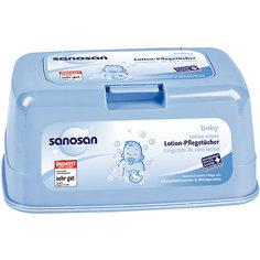 Салфетки влажные Comfort в контейнере 72 шт., SANOSAN