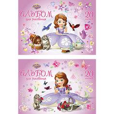 "Альбом для рисования ""Sofia in flowers"", А4, 20 л. Erich Krause"