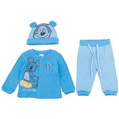 Комплект: толстовка, штанишки и шапочка для мальчика PlayToday