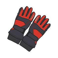 Перчатки для мальчика Scool S`Cool
