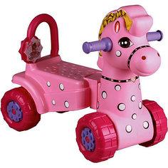 """Каталка детская """"Лошадка"""" ,  Alternativa, роз."""