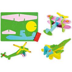 """Мягкий 3D-пазл """"Самолет"""" (5 дизайнов в ассортименте) Tukzar"""