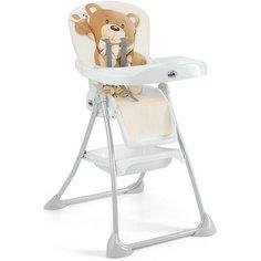 Стульчик для кормления Mini Plus, CAM, бежевый с медвежонком