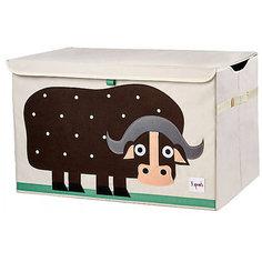 Сундук для хранения игрушек Буйвол (Brown Buffalo SPR906), 3 Sprouts