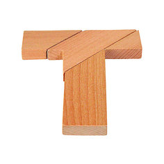Головоломка T-форма, goki