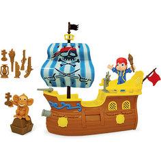 """Игровой набор """"Пиратский корабль"""" - Остров приключений, Boley"""