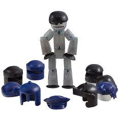 Фигурка с аксессуарами Шлемы, Stikbot, черные Zing