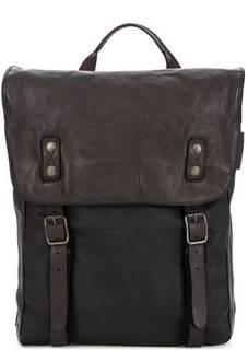 Рюкзак из натуральной кожи с широкими лямками Aunts & Uncles