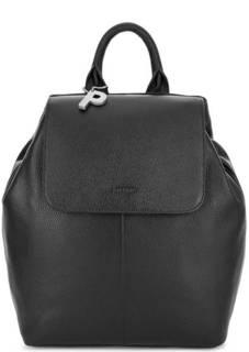 Кожаный рюкзак черного цвета Picard