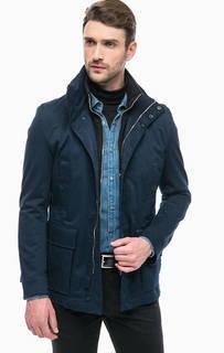 Синяя куртка из хлопка Strellson