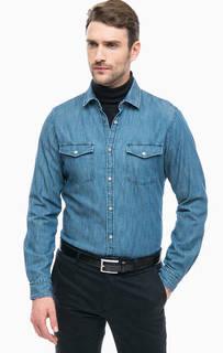 Рубашка на кнопках с нагрудными карманами Strellson