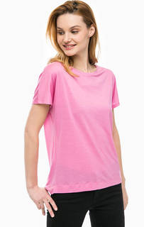 Однотонная футболка свободного кроя Cinque