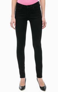 Черные джинсы скинни Cinque